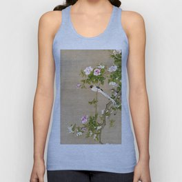 Flowers and Birds Unisex Tank Top
