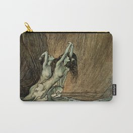 "Arthur Rackham Watercolor for Wagner's ""The Ring"" Carry-All Pouch"