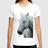 horse T-shirts featuring Horse by Chris Knight