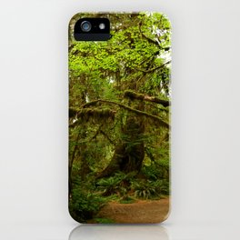 The Opulence Of The Rainforest iPhone Case