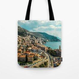 Life on the coast: Croatia Tote Bag