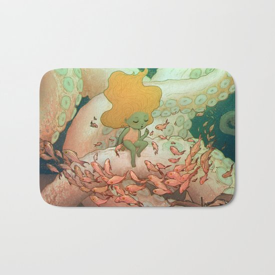 Listen To Me And I'll Tell You A Story Bath Mat
