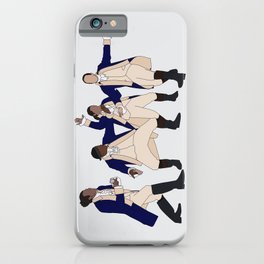 Lafayette, Mulligan, Laurens & Ham iPhone Case