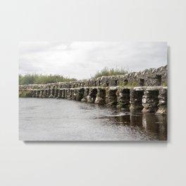 Little Stone Bridge Metal Print