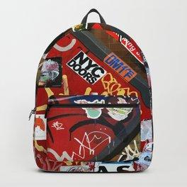 New York City Door Graffiti Backpack