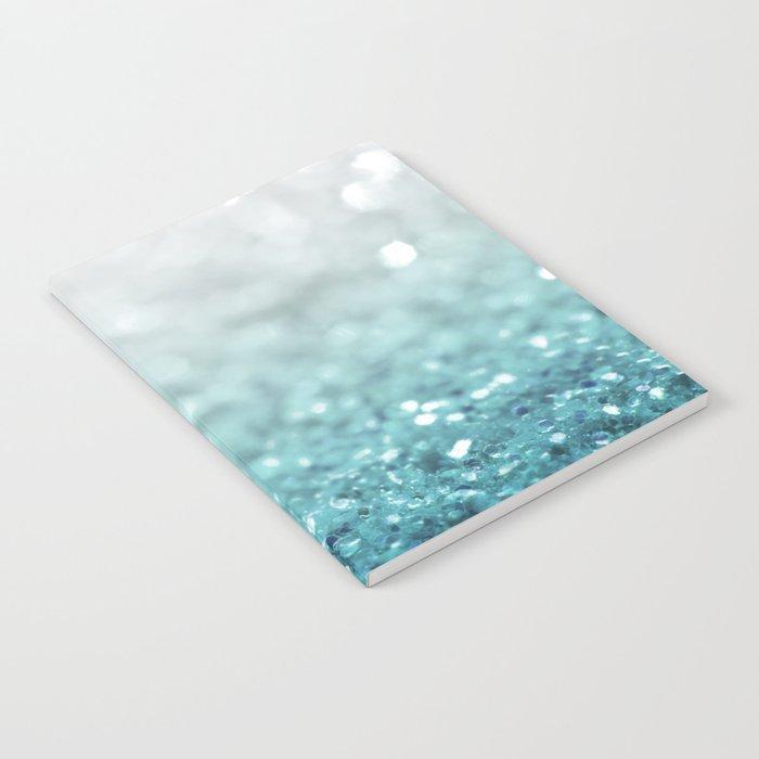 MERMAID GLITTER - MERMAIDIANS AQUA Notebook