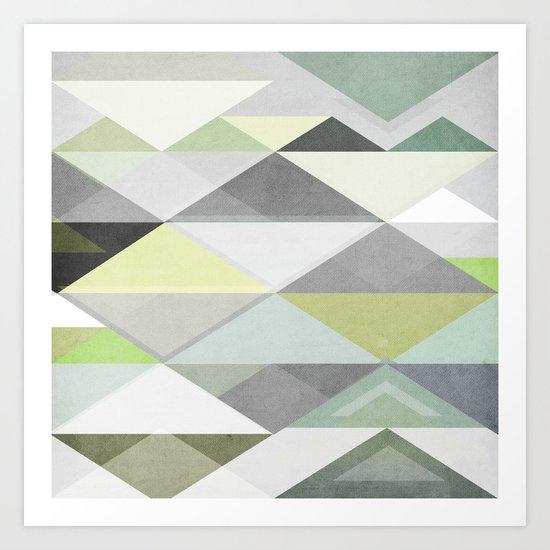 Nordic Combination III Art Print