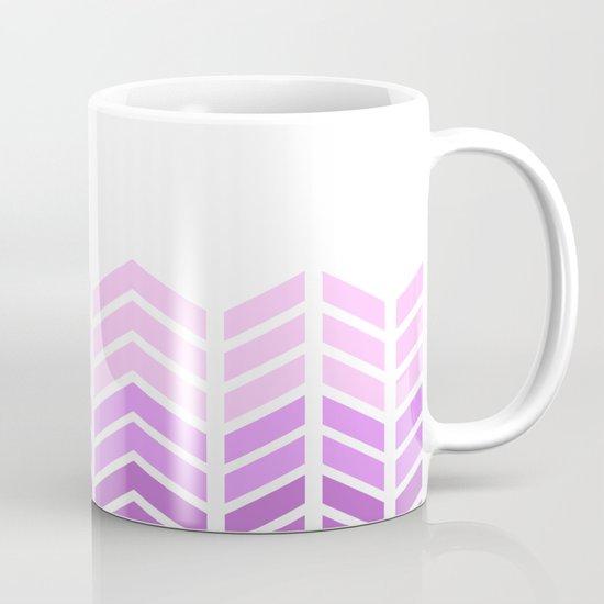 OMBRE LACE CHEVRON 2 Mug
