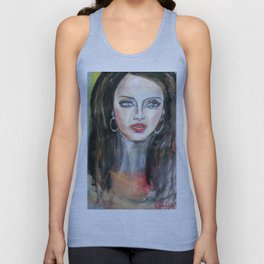 glamour girl Unisex Tank Top