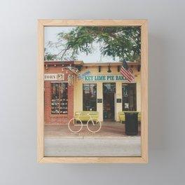 The Original Key Lime Pie Bakery Framed Mini Art Print