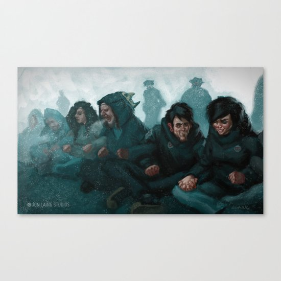 """We are the revolution"" Canvas Print"