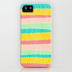Beach Stripe (Vintage Candy) iPhone (5, 5s) Slim Case