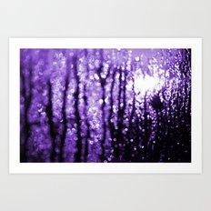 Purples Revenge Art Print