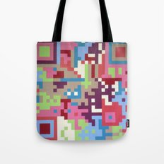 Number Four Multicolour  Tote Bag