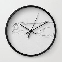 Snoozing Pooch Wall Clock