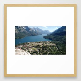 Waterton, Alberta Framed Art Print
