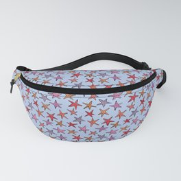 Starfishes in clear water Fanny Pack