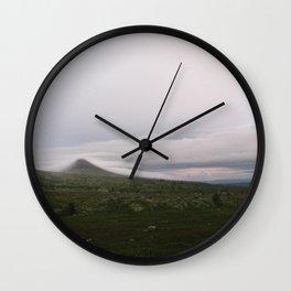 Misty Mount Städjan Wall Clock