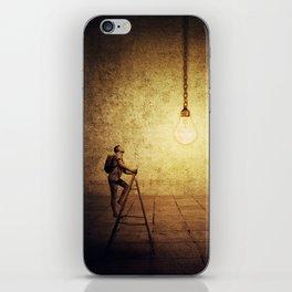 idea achievement iPhone Skin