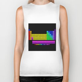 Periodic table of elements Biker Tank