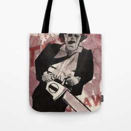 Leatherface Tote Bag