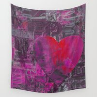 passion Wall Tapestries featuring Passion    by LebensART