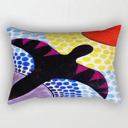 The Birdman Soars Rectangular Pillow