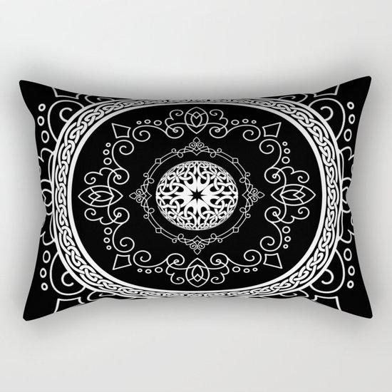 Celtic Soul Mandala Rectangular Pillow