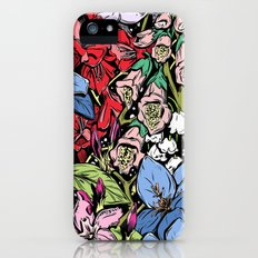 Flowers in Color Slim Case iPhone (5, 5s)