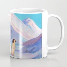 Happy Penguin Family Coffee Mug