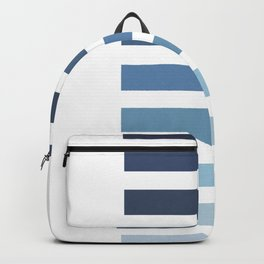 Sky and Water Blue Palette Backpack