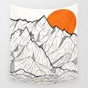 The orange sun by stevewade