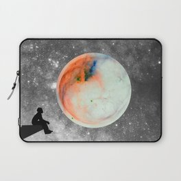 Fly me to the moon Laptop Sleeve