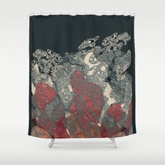 Guess what! Shower Curtain