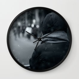 Waiting for Conan Wall Clock