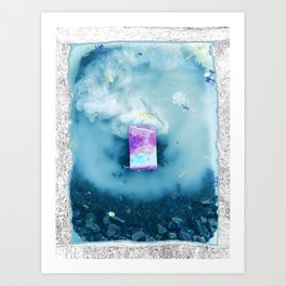 Cloudwaves Art Print
