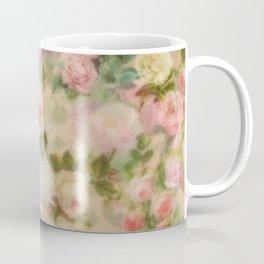 Pink Vintage Flowers Coffee Mug