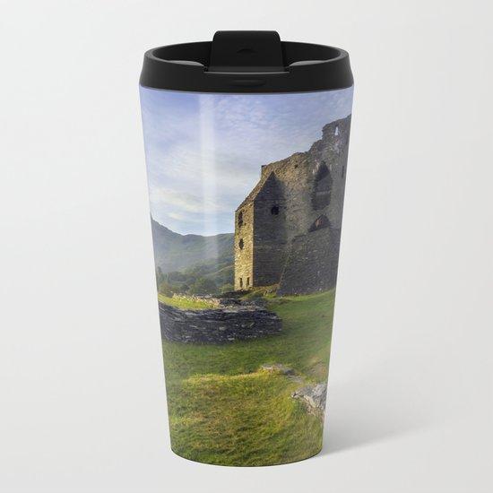 Dolbadarn Castle Metal Travel Mug