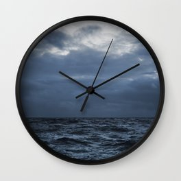 The Sea and the Sky Wall Clock