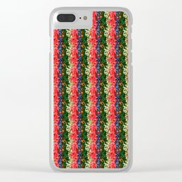 Flower Beds Clear iPhone Case