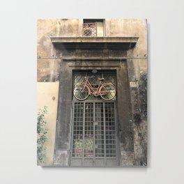 Bicicletta Metal Print