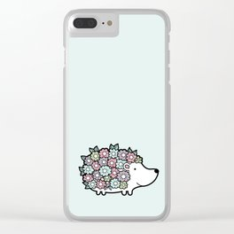 Hello Hedgehog Clear iPhone Case