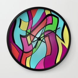 Shake Rattle and Roll Wall Clock