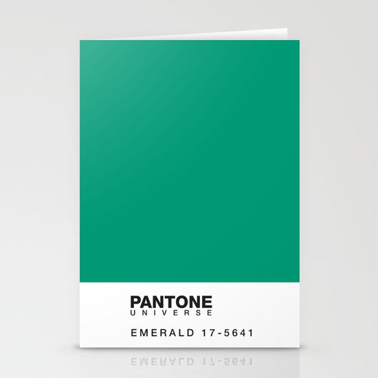 Pantone 17-5641 Stationery Cards