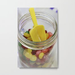 Candy Jar Jellies Metal Print