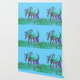 Pop Art Horse 1 Wallpaper