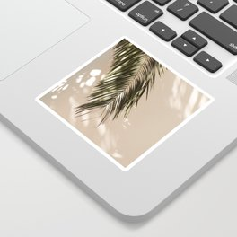 tropical palm leaves vi Sticker