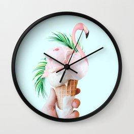 Tropical Ice Cream #society6 #decor #buyart Wall Clock