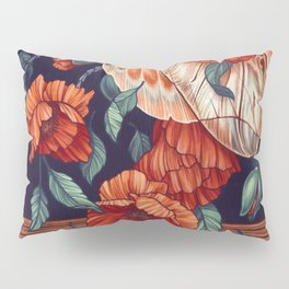 Moth Beetle Pillow Sham