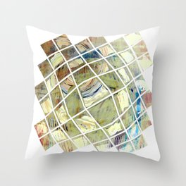 Brane Windows S29 Throw Pillow